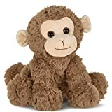 Bearington Giggles Plush Monkey Stuffed Animal, 10.5 Inch