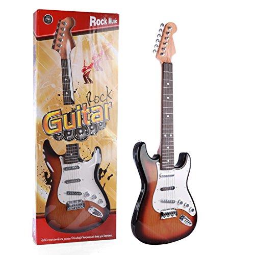 ANNA SHOP 6 Cuerdas Guitarra Electrica Niño Juguetes para Niños ...