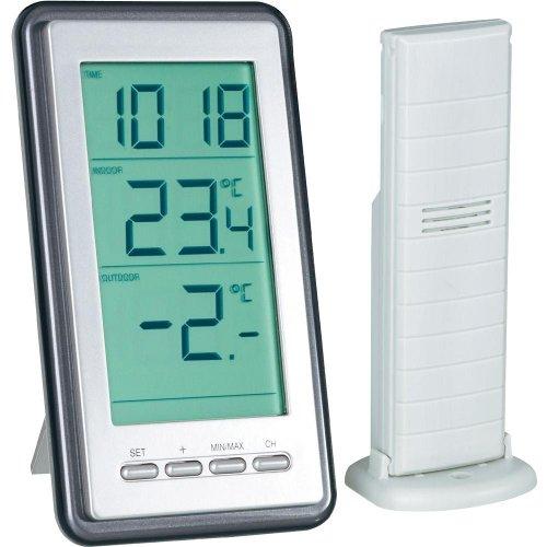 Draadloze thermometer met buitensensor.