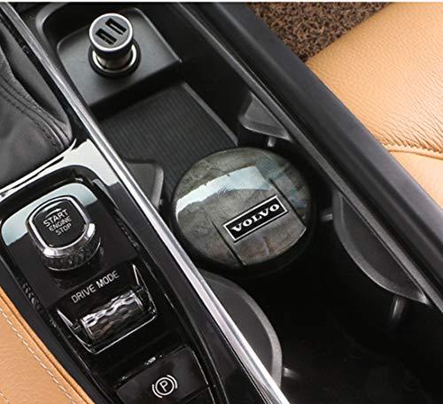 6P6 Volvo XC60 S90 XC90 V90CC V60 XC40 Auto Posacenere Speciale Automotive Interior Supplies Non Ostruire Il Coperchio Della Macchina Originale,A