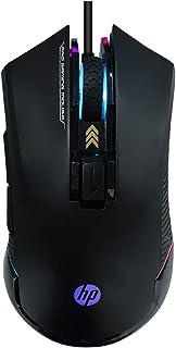 Mouse HP Gamer USB G360 Preto - Sensor Óptico PIXART P3327 Ambidestro Resoluções até 6200 DPI e Iluminação Multicolor - 7Q...