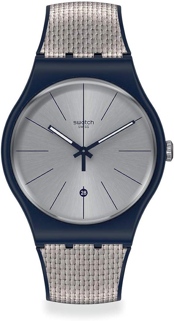 Seasonal Wrap入荷 Swatch New Gent Swiss Quartz Silicone Blue Strap 購入 Casual 20 Wat