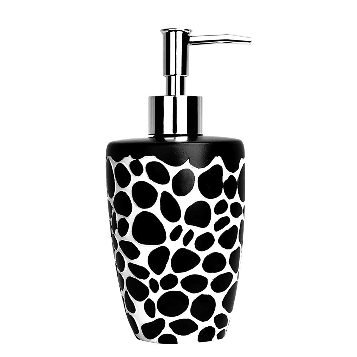 Tornadooo 16 oz. Soap Dispenser Bottles, Ceramic Hand Kitchen Soap Dispenser Great for Essential Oils, Lotions, Liquid Soaps