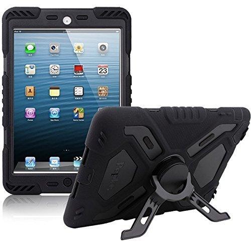 iPad Mini Case for Kids,Y&M Extreme Military Heavy Duty Waterproof Dust/Shock Proof iPad Mini Case with Kickstand for iPad Mini 1/2/3