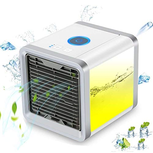 Mokoto Mini Portable Air Cooler Fan Air Personal Space...