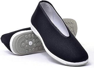 Old Beijing Kung Fu Skor Tai Chi Kampsport Karate Herrskor Andningssko Sneakers Löpande Träningsskor svart-46