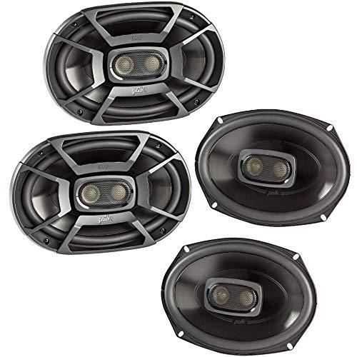 Polk 450 Watt 3-Way Car/Boat Coaxial Stereo Audio Speakers Marine...