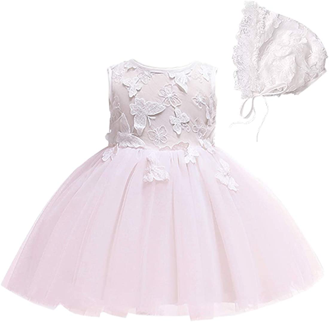 Bow Dream 2pcs Baby Girl Dress Cash special price Beauty products Infant C Formal Wedding Butterfly
