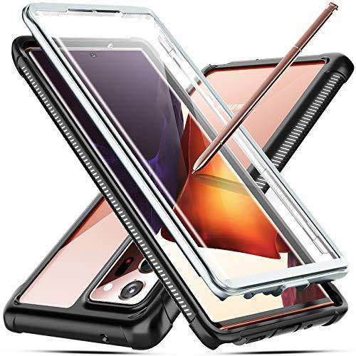 """Temdan Kompatibel mit Samsung Galaxy Note 20 Ultra Hülle, 360 Grad Robust mit Integriertem Displayschutz Heavy Duty Hülle für Samsung Note 20 Ultra 6,9"""", Keine Unterstützung der Fingerabdruck-Sperre"""