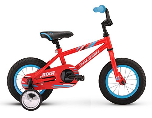 Raleigh Bikes Kids MXR 12 Bike, One Size, Red