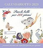 Parole belle per 365 giorni. Calendario 2020