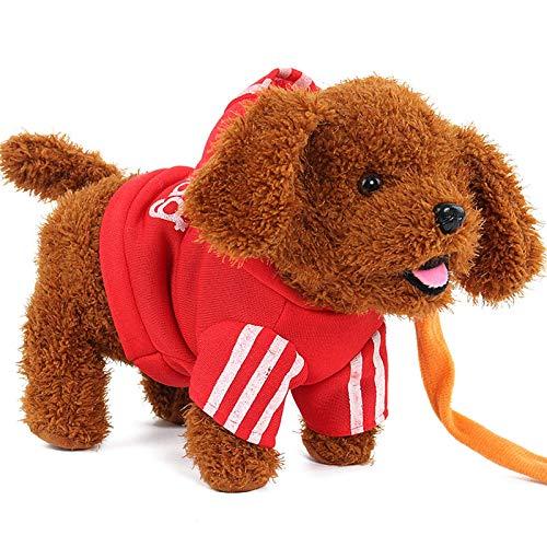Ozsjrq Elektronische Hundeleine für elektrische Plüschhunde für Kinder