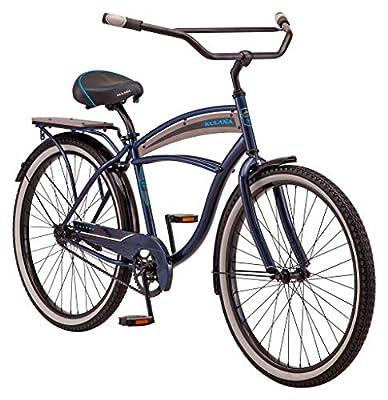 Kulana Lakona Wave Adult Beach Cruiser Bike, 26-Inch Wheels, Single Speed, Blue (R7123AZ)