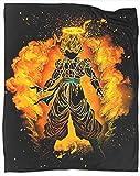 Coobal Soul of the Fusion Manta de felpa suave y sedosa Anime Dragon Ball Z Goku manta de forro...