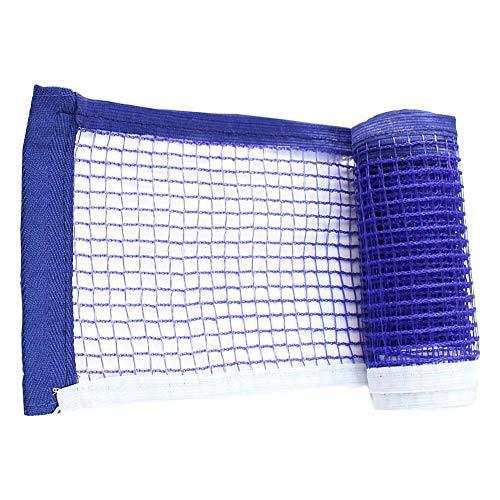 xiegons0 Tischtennis Netz Einziehbar Ball Netz Universal Ersatz Ball Netz Geeignet Für Innen und Außen Training - Blau, Free Size
