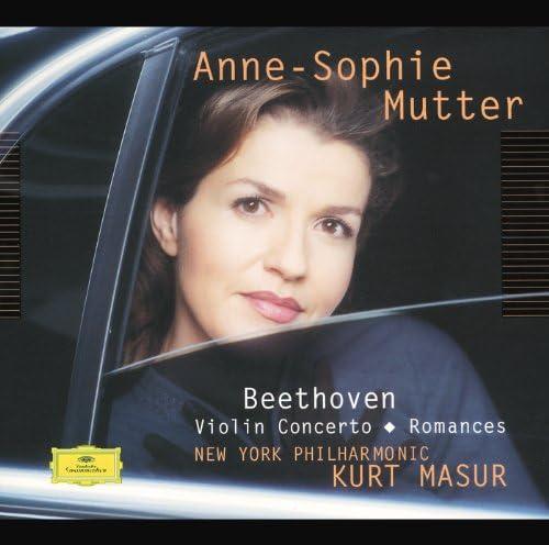 Anne-Sophie Mutter, New York Philharmonic Orchestra, Kurt Masur & Ludwig van Beethoven