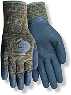 Red Steer Chilly Grip The Original Camo A313 Heavyweight Thermal-Lined Full-Fingered Work & General Purpose Gloves, Camo/Black [PRICE is per PAIR] (Small)