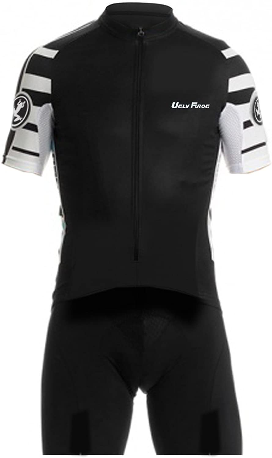 Uglyfrog Men's Cycling Skinsuit  Short Sleeves and Short Legs with Gel Pad