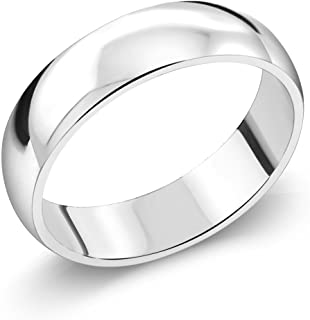 5mm 925 Sterling Silver High Polish Wedding Band Ring (Available 5,6,7,8,9,10,11,12,13)