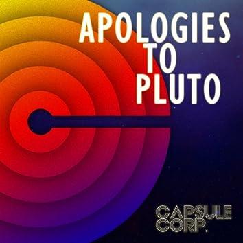 Apologies to Pluto