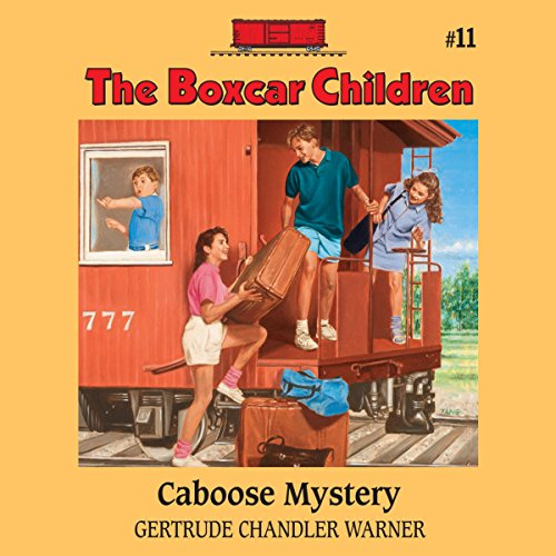 The Caboose Mystery audiobook cover art