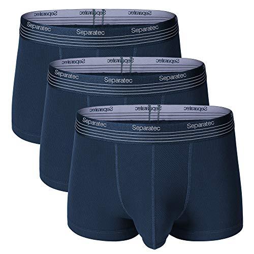 Separatec Boxers para Hombre Calzoncillos Micro Modal Suave