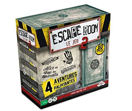 RIVIERA GAMES Escape Room Le Jeu 2 - Coffret 4 Aventures Coffret n°2