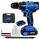 <span class='highlight'><span class='highlight'>ZanGe</span></span> Cordless Drills & Screwdrivers Set with 2 Lithium-Ion Batteries 1500mAh Screwdriver Max Torque 45 N.m,10mm Chuck,Variable Speed, 18 1 Torque Setting with LED,29Accessories