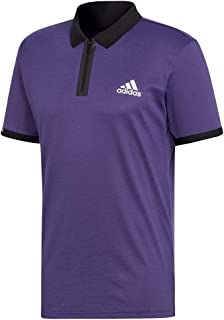 adidas Escouade Polo - Legend Purple/White
