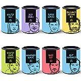 Just Spices 8er Grill Gewürze Set | BBQ Geschenkset in schöner Holzbox | 8 verschiedene...