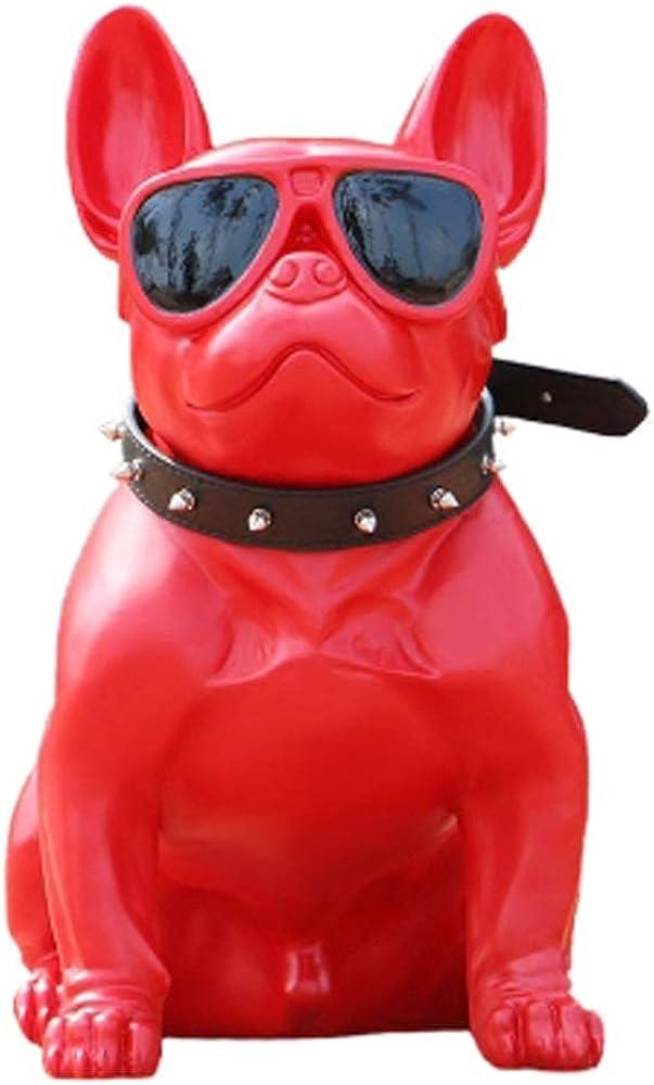 Shoppinglyw, statua in poliresina, raffigurante il  bulldog francese, misure h40xl23xs41 Shoppinglyw2265A