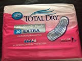 Total Dry Moderate Pads EXTRA 20 Count Bladder Control