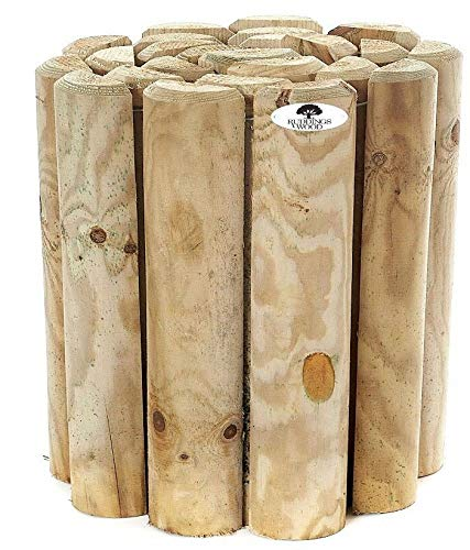 12' Log Roll Border Edging