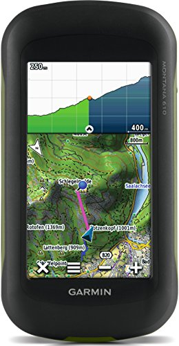 Garmin Montana 610 - GPS portátil de múltiples actividades (Pantalla táctil de 4