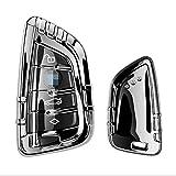 SBCX Coque de clé de Voiture pour BMW Série X1 X5 X6, TPU Car Auto Remote Key Case Cover Shell, Accessoires de Voiture Porte-clés Porte-clés