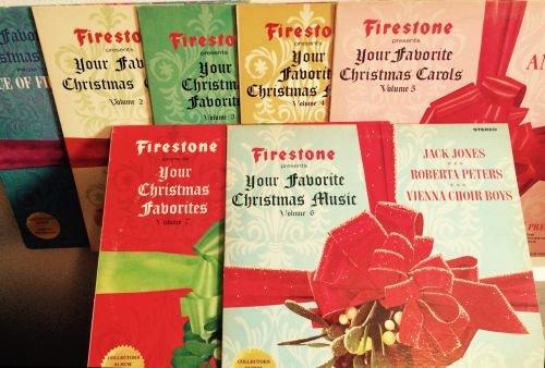 Firestone presents your favorite Christmas Music set - volume 1 - 7 - LP 33 1/3 - good condition