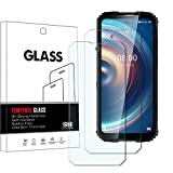 YISPIRIN 2 protectores de pantalla de cristal templado para Oukitel WP10 5G dureza 9H, antiarañazos, sin burbujas, protector de pantalla HD para Oukitel WP10 5G