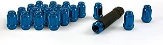Gorilla Automotive 21133BL Small Diameter Acorn Blue 5 Lug Kit (12mm x 1.50 Thread Size) - Pack of 20