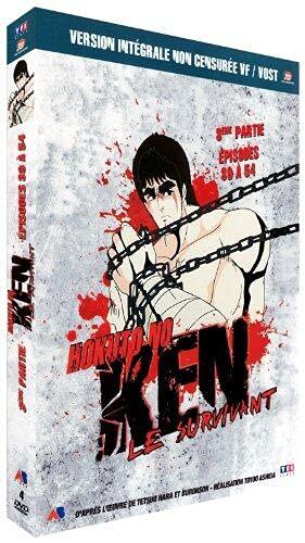 Ken Le Survivant-3ème Partie : Épisodes 39 à 54 [Version Non censurée]