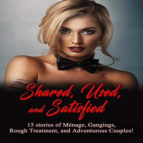 Shared, Used, and Satisfied Audiobook By Alexandra Noir, Bambi Hammer cover art