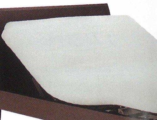 フランスベッド 電動ベッド用 シーツ 「のびのび ぴったシーツ」 マットレスカバー (BOXシーツ) ホワイト色 ワイドダブルサイズ