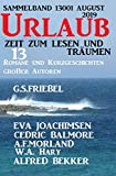Urlaub August 2019 - Zeit zum Lesen und Träumen - Sammelband 13001: 13 Romane und Kurzgeschichten großer Autoren