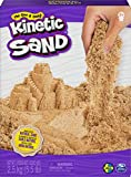 Kinetic Sand naturbraun 2,5 kg de Arena Original Kinetic de Color marrón Natural, Puede aplicar. (Spin Master 6060997)