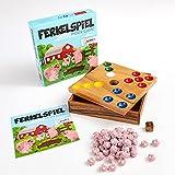 ROMBOL Ferkelspiel - Das Würfelspiel mit den süßen Ferkeln für die ganze Familie