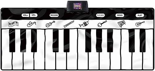 LINGLING-Tastatur Tanzende Fü Elektronische Klavier Kinder Bildung Musik Decke mädchen Junge Spielzeug (Farbe   A4)