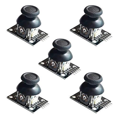 Electrely PS2 Joystick Juego de Control XY Joystick Dual Axis Joystick Breakout Module para Arduino