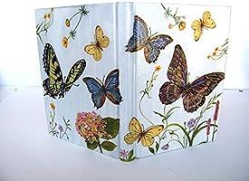 Agenda 2021 Planificador Anual Floral Regalo de Navidad para Ella A5 Vista por Dìa Tapa Dura Mariposas Diario Floral