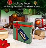"""Holiday Fever Family Board Game - Christmas Themed Board Games for Families and Adults - Perfect for 2-6 Players Ages 8+ Family and Friends - Quad Fold Board Dimensions – 20"""" x 20"""""""