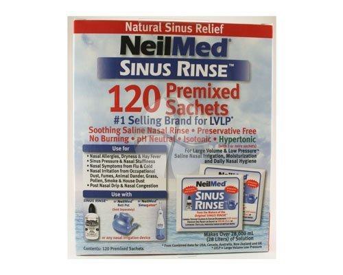 NeilMed SinuRinse 120 Refill Mixture Sachets Including P & P* by NeilMed