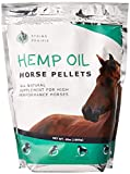 Hemp Horse Pellets - Reduce Pet Stress, Anxiety, and Aggression - Hip and Joint Non-GMO Calming Supplement - Supports The Immune System